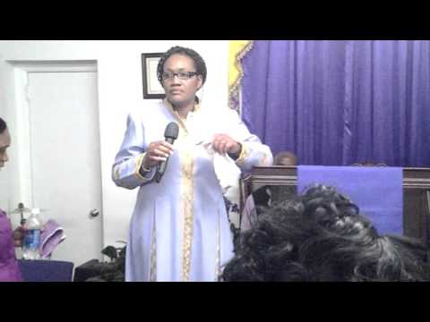El Shaddai Healing & Deliverance Apostle Vassell preaching engagement