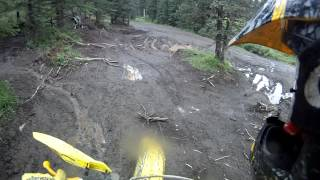Mudding on 2 stroke dirt bikes