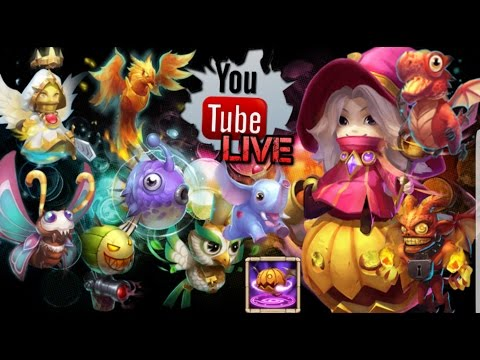 Castle Clash Double Evolved Trixie Treat Gameplay!