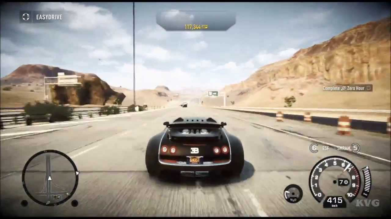 need for speed rivals bugatti veyron super sport top speed 416 kmh hd youtube. Black Bedroom Furniture Sets. Home Design Ideas