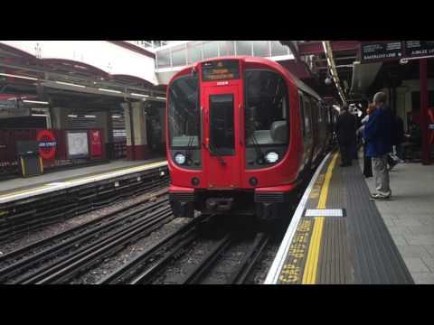 Voyage à Londres du 22 au 25 mai 2017 (Underground - métro de Londres)