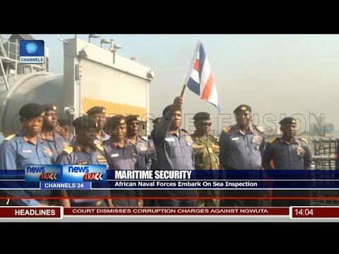 African Naval Forces Embark On Sea Inspection