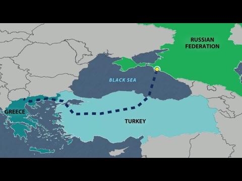 PTV news 8 Febbraio 2017 - Al nastro di partenza il Turkish Stream, mentre l'Europa sta a guardare