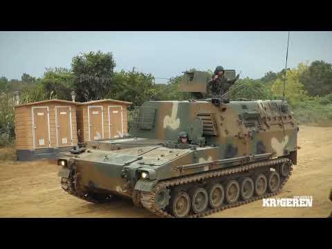K9 Thunder Samsung Techwin - K-9자주포 급속사격시연
