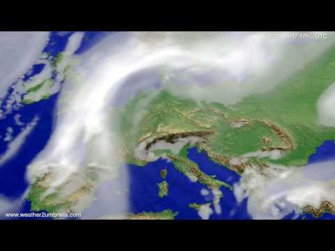 Cloud forecast Europe 2017-05-15