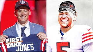 Mac Jones or Trey Lance: Which QB will have immediate success? | First Take