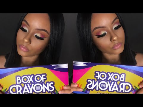 All The Tea On The Box Of Crayon Palette ☕️😳
