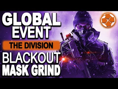 The Division 🔴 Blackout Global Event | Negative Ramos | Grinding for New Masks | PC Gameplay
