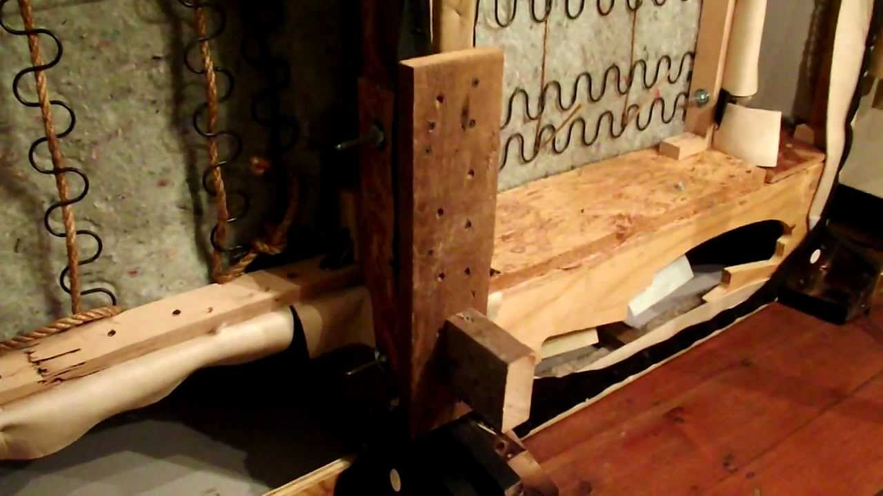 Diy Sofa Repair Recliner Sofas Reviews How To A Sectional Couch Separation Issues Youtube