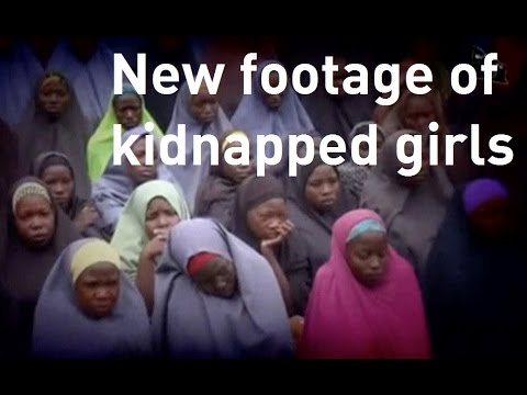 Boko Haram releases new video footage of kidnapped Chibok girls