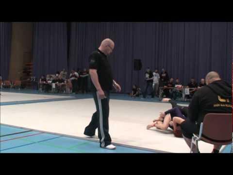 ADCC European Championship 2011 60kg semifinal Sara Svensson vs Hanna Hirvonen