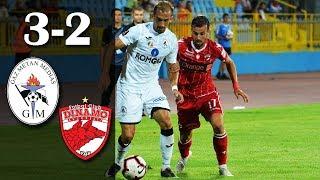 Rezumat: Gaz Metan Medias -  Dinamo 3-2 (1-1) #dinamo