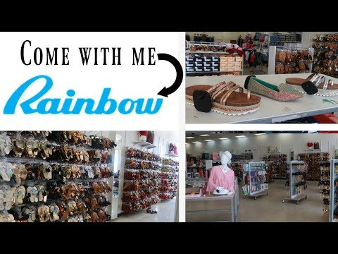 RAINBOW * COME WITH ME * SHOES & FASHION