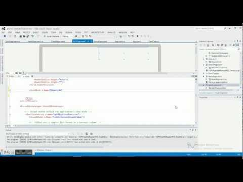 Windows 8 Programming Tutorial 7 - ESPN Feed - Web View Part