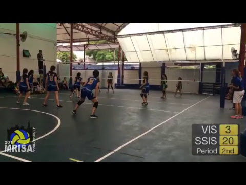 MRISA Junior Volleyball 2017 VIS vs. SSIS 9:10am (Girls) Outdoor Court