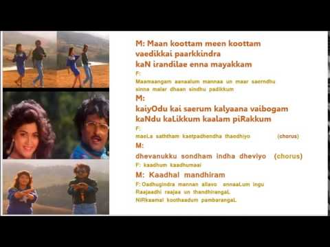 Rajadhi Raja Un ThandhirangaL   Karaoke For Male Singers By  HamsaPriya