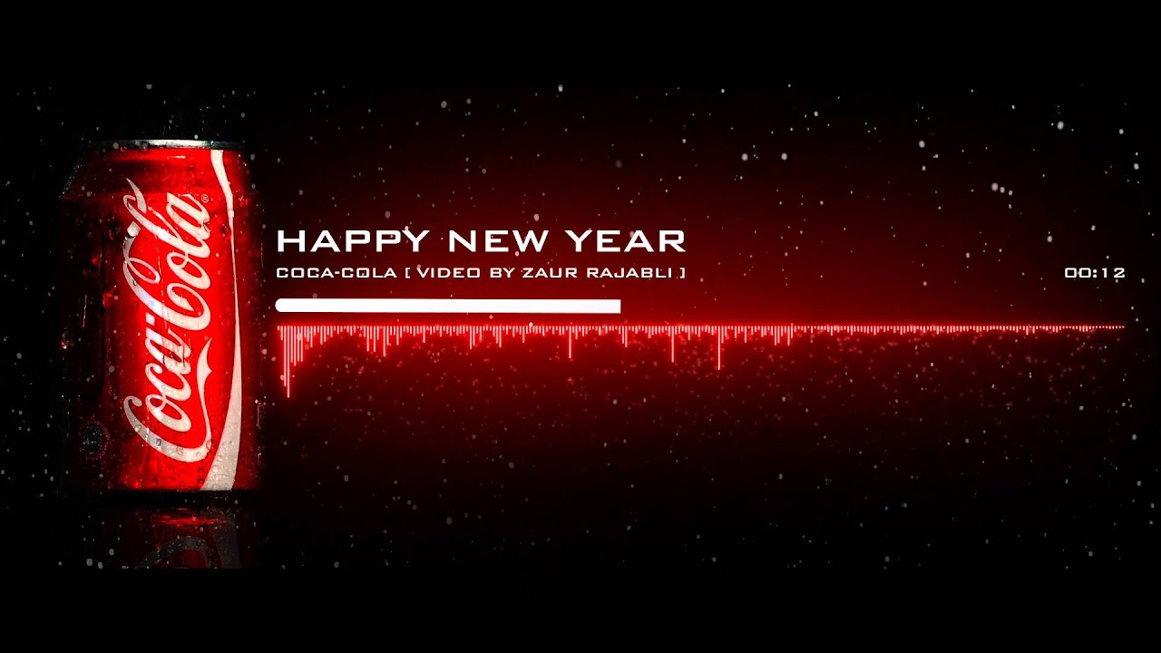 2018 coca cola new year screensavers