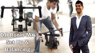 Gambar cover How to Assemble a DJI Ronin MX Part 1 2017 - Setting Up & balancing - DJI Gimbal - Tutorial