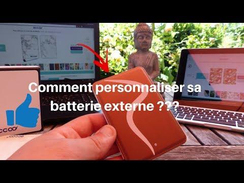 Comment personnaliser sa batterie externe avec accoo - Comment personnaliser sa chambre dado ...