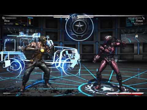Online' Deus(Kano/Commando | Cutthroat) vs Timen (Sector | Jax/Pumped Up)