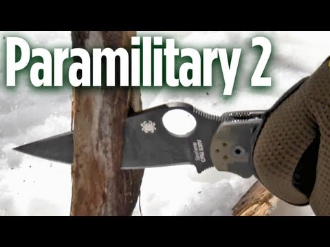 Spyderco Paramilitary 2: Field Proven Quality