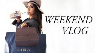 WEEKEND VLOG: What Did I Buy, New Skincare, LV & Zara