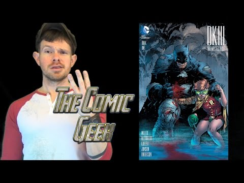 DK III: Master Race Issue #1 DC Comic Book Review - Dark Knight III