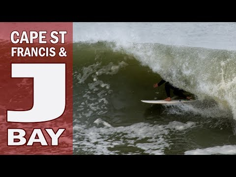 Exploring and Surfing Firing Cape St Francis and Jeffreys Bay