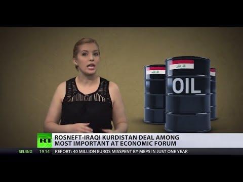 High Potential: Rosneft-Iraqi Kurdistan oil deal signed, US oil plans shaken