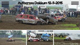Autocross Dokkum 12-9-2015 Crashes
