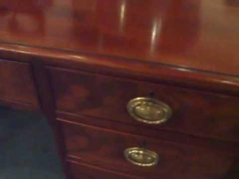 Victorian mahogany desk/dressing table