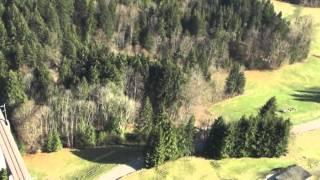 Repeat youtube video Flugaufnahme SOB Strecke Herisau - Lichtensteig