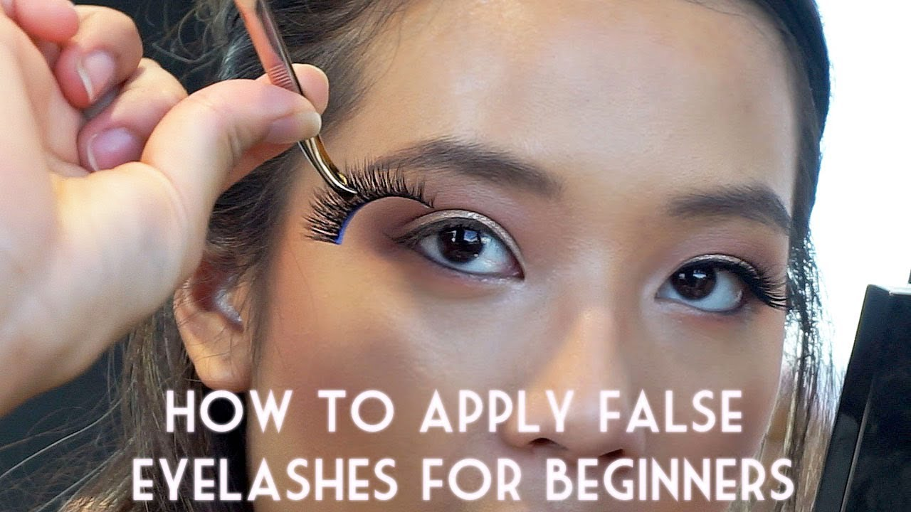 c3a88c91e32 How to Apply False Lashes for Beginners | Florres