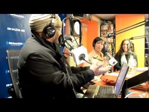 REGINA KING TALKS BOONDOCKS & DOES RILEY VOICE LIVE! SWAYINTHEMORNING