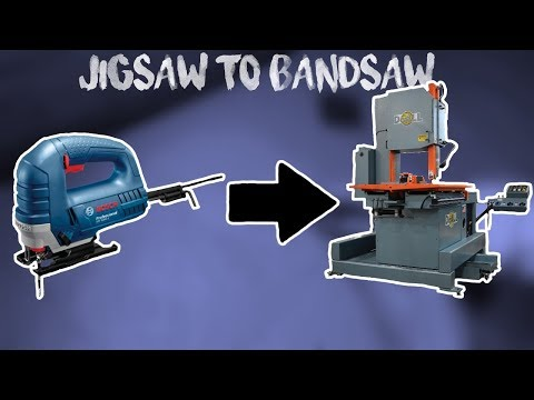 Turning Jigsaw in to a Bandsaw.