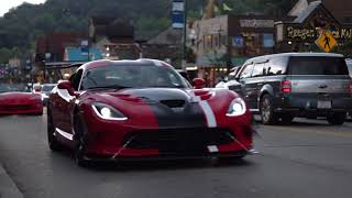 Dodge Viper rally Gatlinburg, TN!!!