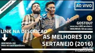 Sertanejo Mais tocadas Dezembro 2016