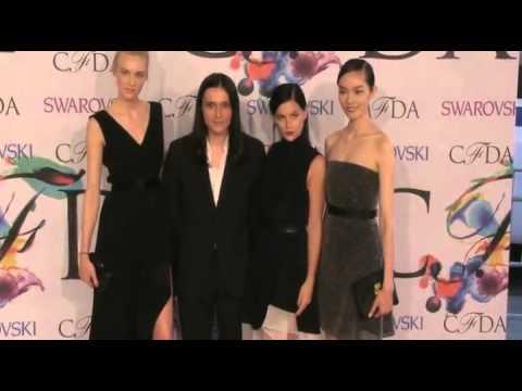 More Fashion Models at the CFDA Fashion Awards 2014