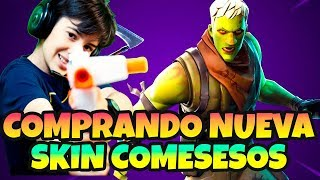 BUYING NEW SKIN COMESES IN *FORTNITE AND LIVE GUADAÑA WITH HUGO MARKER