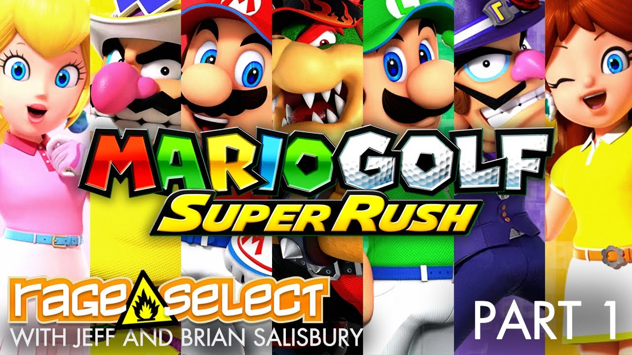 Mario Golf: Super Rush (The Dojo) Let's Play - Part 1... WITH JUNKFOOD CINEMA!