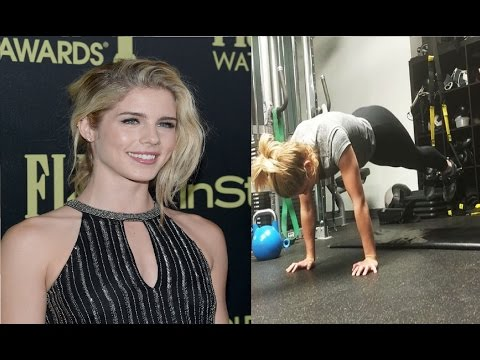 Emily Bett Rickards Workout Routine  Training For Arrow