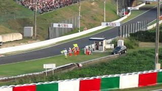 2011年 F-1日本GP 決勝レース終了後 シューマッハ バリチェロ