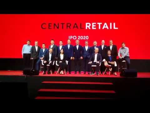 "CRC IPO ""เซ็นทรัล รีเทล"" เสนอขายหุ้นที่ 40 - 43 บาทต่อหุ้น จัดเต็มโรดโชว์ IPO สุดๆตลาดทุนไทย"