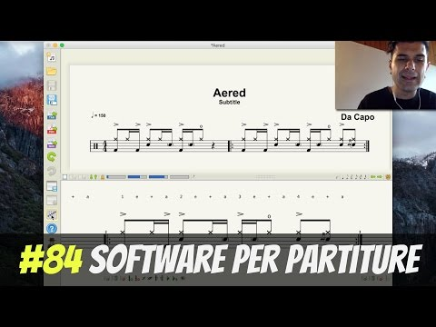 Software per Partiture Batteria Gratis (Aered Tutorial) #84 from YouTube · Duration:  6 minutes 44 seconds