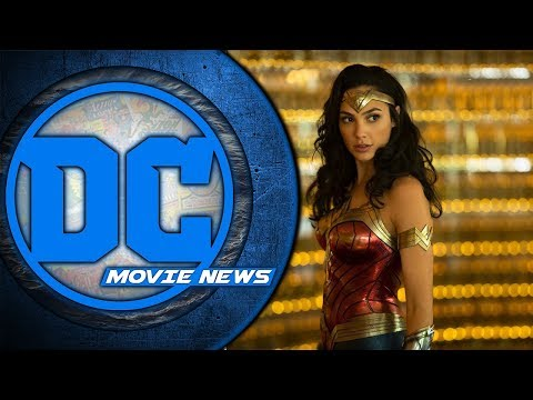 Aquaman trailer coming, first looks at Wonder Woman 84! - DC Movie News