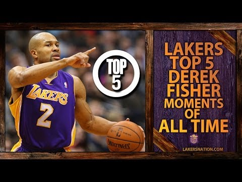 Derek Fisher's Top 5 Moments In Lakers History