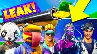*LEAK* NEW FORTNITE SKIN COSMETICS & DOUBLE BARREL SHOTGUN META! (Fortnite V5.2 Content Update)