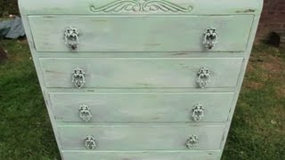 Diy: Vintage Shabby Chic Furniture