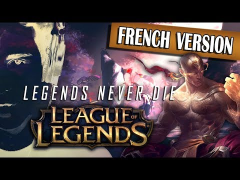▶️ [Male French Cover] Legends Never Die - League of Legends (Beastboy)