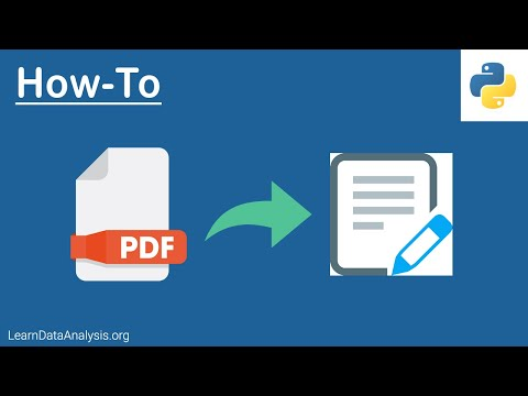 How To Extract Text From A PDF File Using Python | Python Tutorial